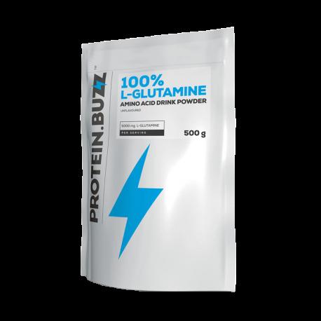 100% L-Glutamine (500g) - ProteinBuzz