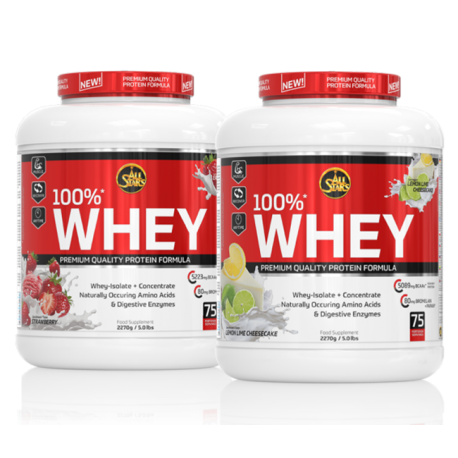 100% Whey 2270g Dose - All Stars