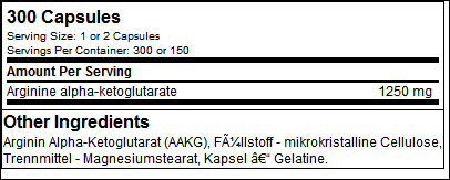 AAKG Extreme 1250 (300 Mega Caps) - Olimp Sport Nutrition