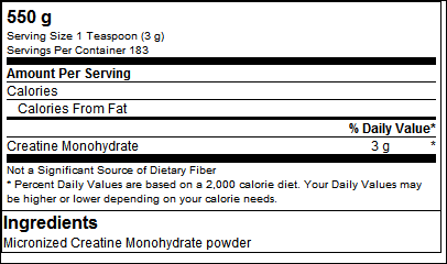 Creatine Monohydrate Powder - Olimp Sport Nutrition