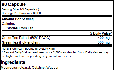 EGCG - Tested Nutrition