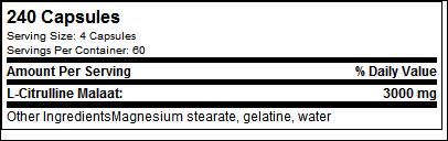 L-Citrulline - Tested Nutrition