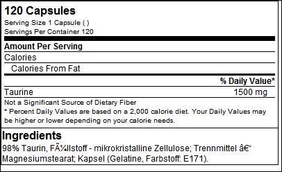 Taurine Mega Caps - Olimp Sport Nutrition