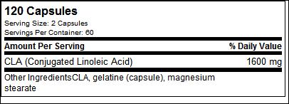 CLA - Tested Nutrition