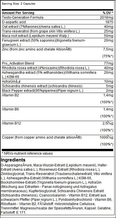 Testoxeed - Olimp Sport Nutrition
