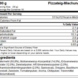 Protein Pizzateig - GOT7