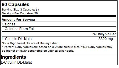 Citrulline Malate (90 Caps) - Biotech USA