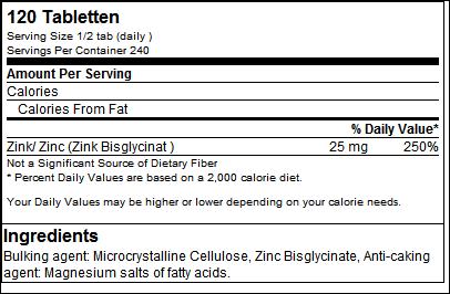 Zinc Bisglycinate - GN Laboratories