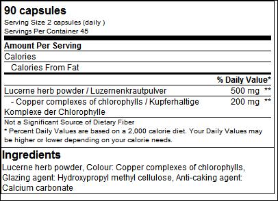 Chlorophyll Health Line - GN Laboratories