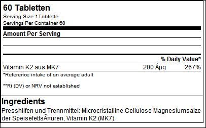 Vitamin K2 all trans Health Line - GN Laboratories