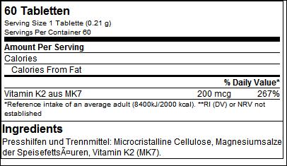 Vitamin K2 all trans - B.A.M.