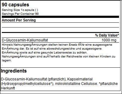Glucosamine Giga Caps - ESN