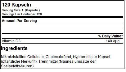 Vitamin D3 - ESN