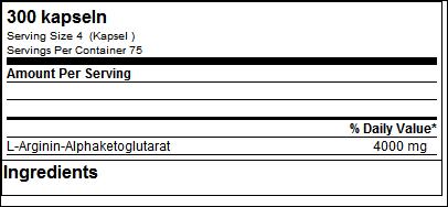 L-Arginine AKG Giga Caps - ESN