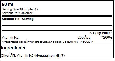 Vitamin K2 Drops 99.7% - GN Laboratories