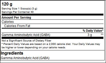 Gaba Powder Health Line - GN Laboratories