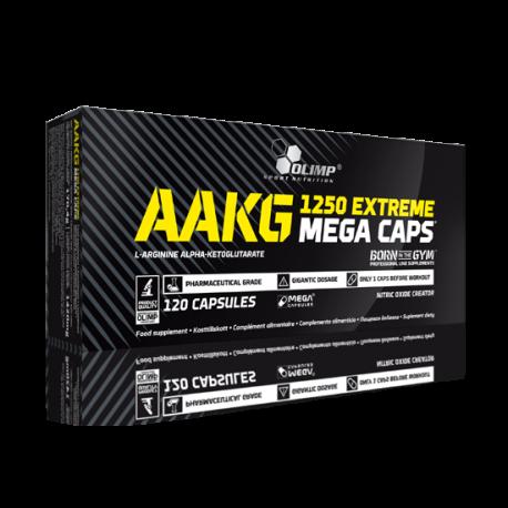 AAKG Extreme 1250 (120 Mega Caps) - Olimp Sport Nutrition