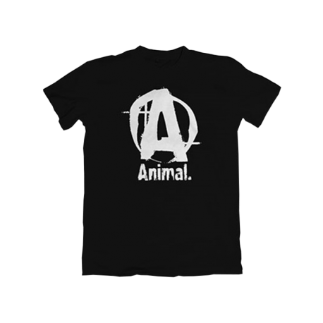 Animal Basic Logo T-Shirt Black - Universal Nutrition