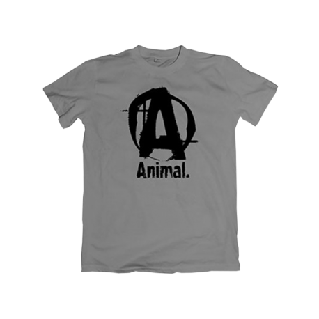 Animal Basic Logo T-Shirt Grey - Universal Nutrition