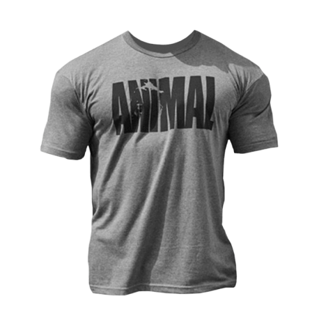 Animal Iconic T-Shirt Grey - Universal Nutrition