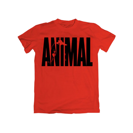 Animal Iconic T-Shirt Red - Universal Nutrition