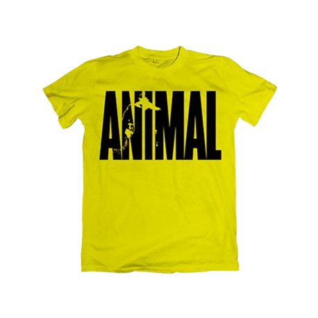 Animal Iconic T-Shirt Yellow - Universal Nutrition