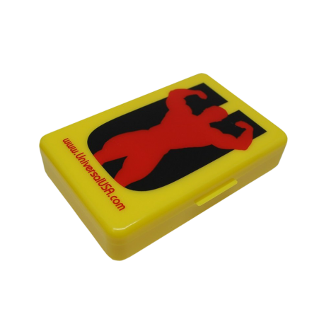 Animal Pill Box (Yellow) - Universal Nutrition