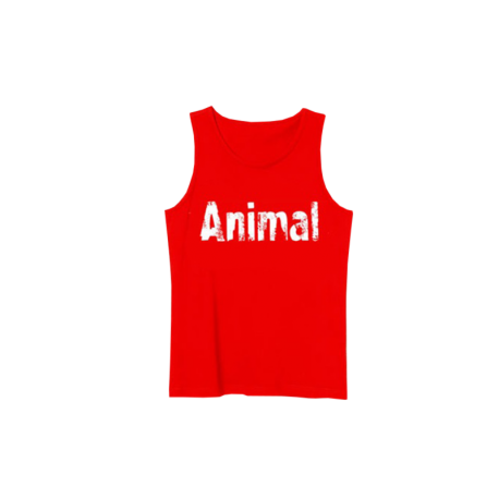 Animal Tank  Top Red/White - Universal Nutrition