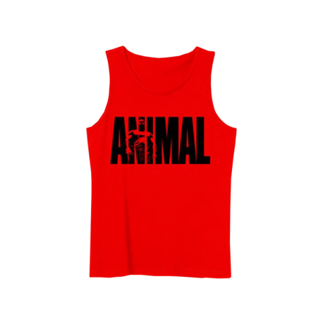 Animal Tank Top Red/Black - Universal Nutrition