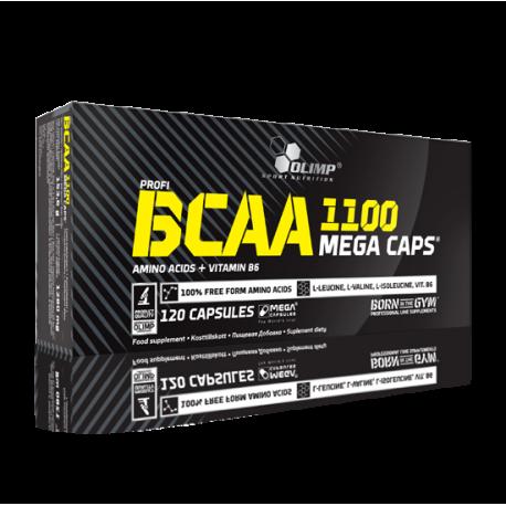 BCAA 1100 Mega (120 Caps) - Olimp Sport Nutrition