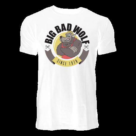 Big Bad Wolf T-Shirt White - Dennis Wolf