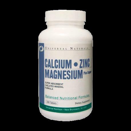 Calcium Zinc Magnesium - Universal Nutrition