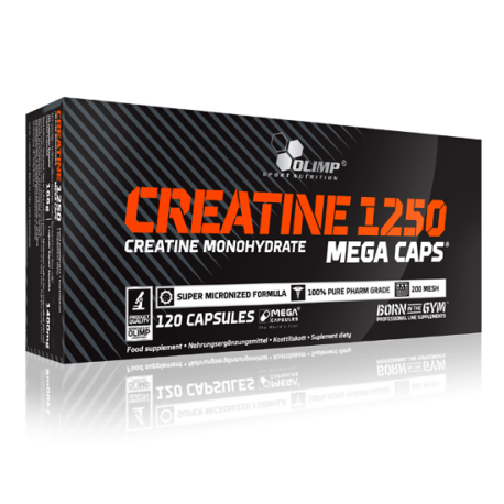 Creatine 1250 (120 Mega Caps) - Olimp Sport Nutrition