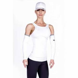 Cut-Out Fitness Top 268 White - Nebbia