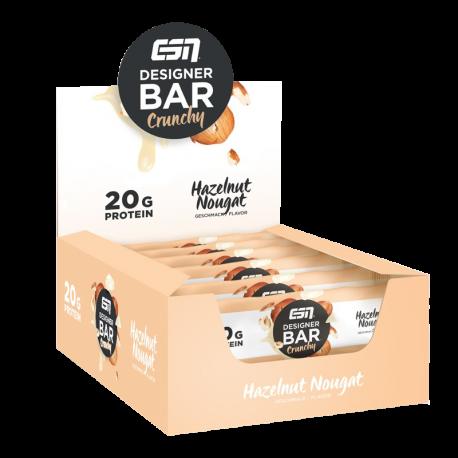 Designer Bar Crunchy 12x60g - ESN