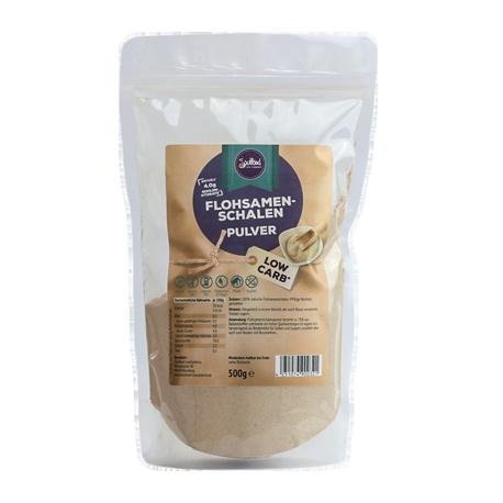 Flohsamenschalen Pulver 99% Reinheit - Soulfood LowCarberia