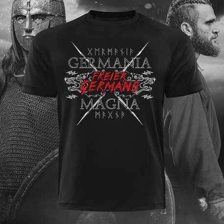 Germania Magna - Freier Germane! T-Shirt - Gods Rage