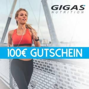 Gutschein 100 EUR - Gigas Nutrition