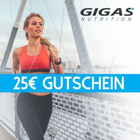 Gutschein 25 EUR - Gigas Nutrition