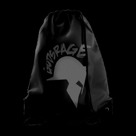 Gods Rage Gymbag Black - Gods Rage