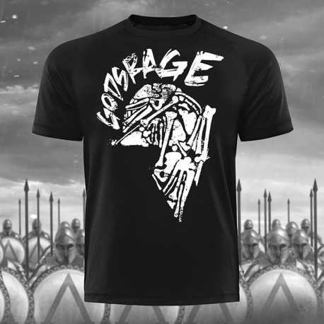 Gods Rage Skull T-Shirt - Gods Rage