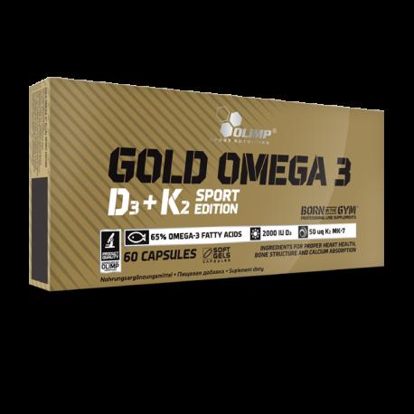 Gold Omega 3 D3+K2 Sport Edition - Olimp