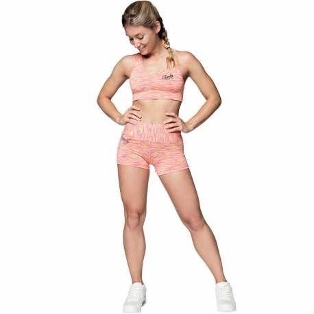Hot Pants Cushy Pink-Gelb - Anarchy Apparel