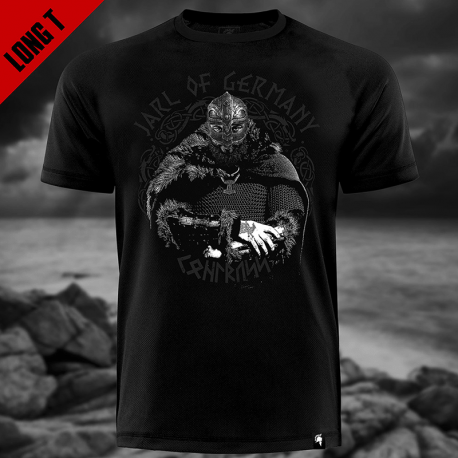 Jarl of Germany - Kohlruss Long Tee Shirt - Gods Rage
