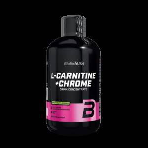 L-Carnitine Chrome 500ml - Biotech USA