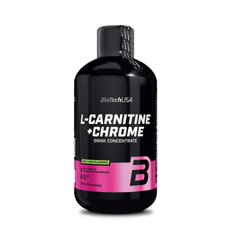 L-Carnitine Chrome 500ml - Biotech USA