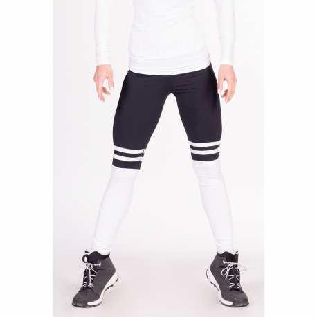 Leggings Over the Knee 286 Black - Nebbia