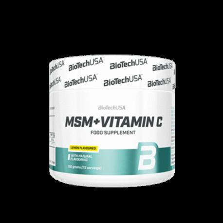 MSM + Vitamin C - Biotech USA