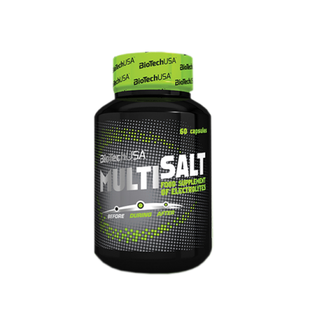 MultiSalt 60 Caps - Biotech USA