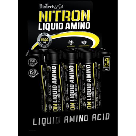 Nitron Liquid Amino 20x 25ml - Biotech USA